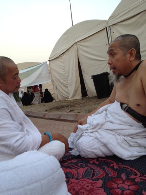 #Dokumentasi_Haji 2012 PT. Gema Shafa Marwa.  Konsultasi Agama dgn Dr.Muslih Abdul Karim