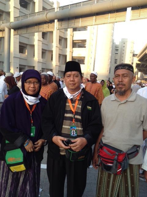 #Dokumentasi_Haji 2012 PT. Gema Shafa Marwa.  saat di mina